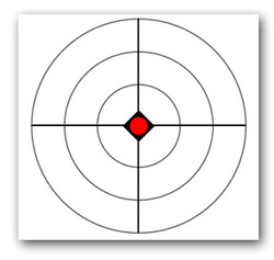 picture relating to Printable Silhouette Shooting Targets identified as Printable Paper Objectives - Hidden Deliver Outlet