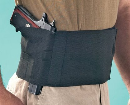 Pro tech belly band holster